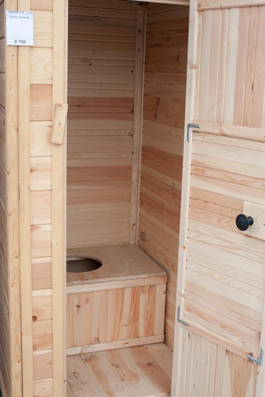 Туалет на даче своими руками - отделка изнутри