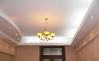 Натяжной потолок в интерьере однокомнатной квартиры