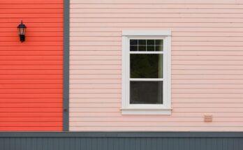 Вариант цветового решения отделки окна
