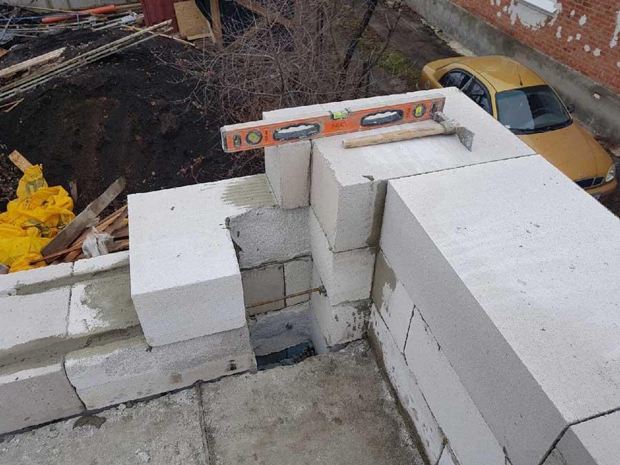 Преимущество постройки дома из газобетона