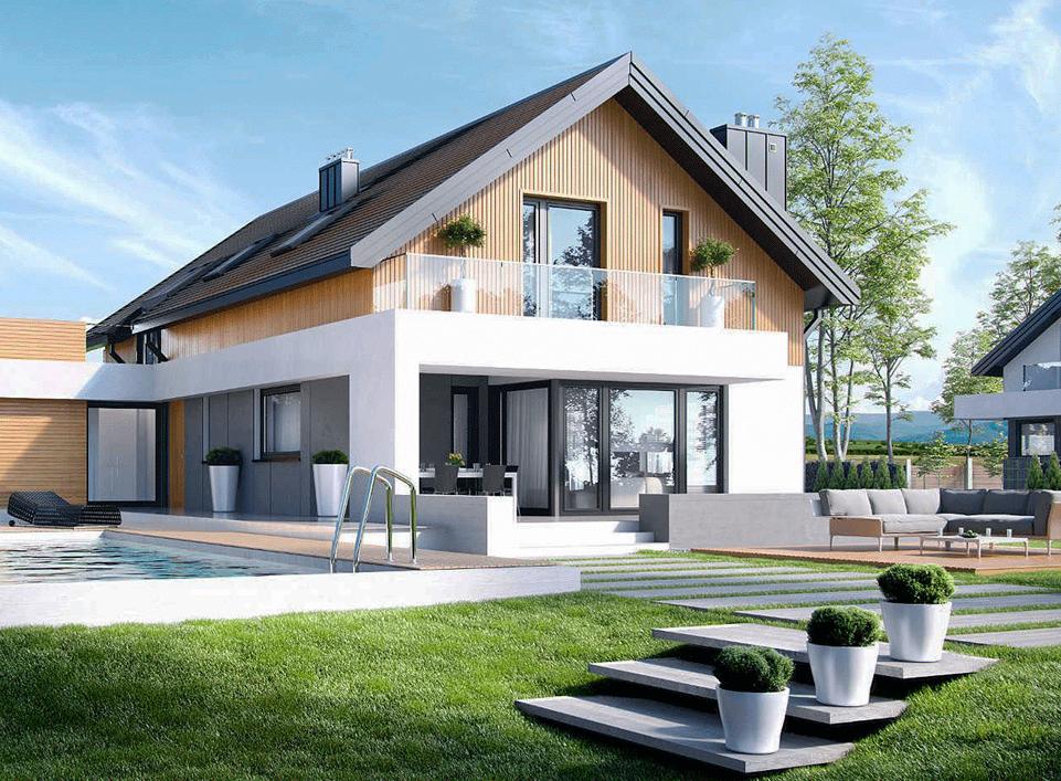 Этапы строительства дома: выбор проекта, место постройки, процесс, выбор материалов, работа с основанием, фундамент, крыша